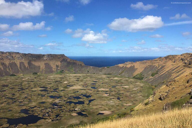 L'un des plus beaux panoramas de l'ile de Paques