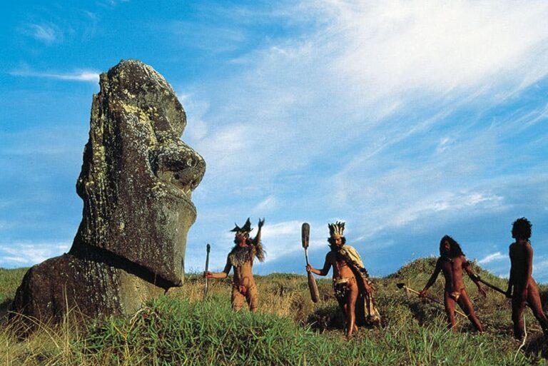 Groupe folklorique pascuan - Ile de Paques