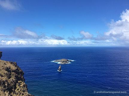 Les ilots de Rapa Nui - L'ocean bleu du Pacifique Sud