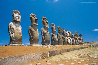 L'un des sites a visiter les plus impressionnants de Rapa Nui